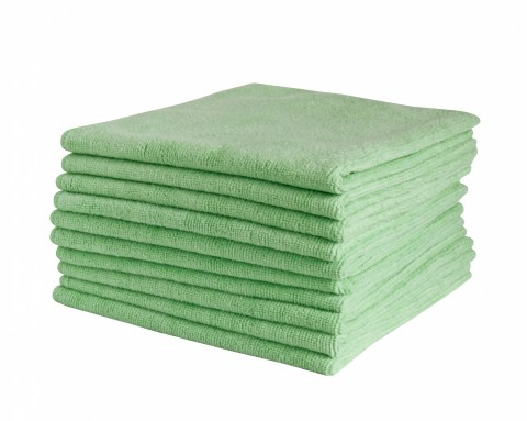 RAPIDCLEAN MICROFIBRE CLEANING CLOTH - GREEN