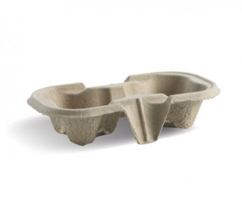 BIOCUP 2 CUP TRAY x50