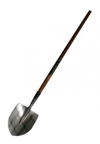 No2 ROUND MOUTH SHOVEL long