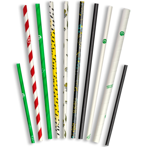 BIOSTRAW 4mm/cocktail - 250 PACK