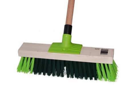BROWNS PG14 355MM GARDEN BROOM - COMPLETE