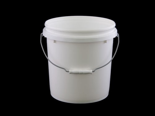 TOP PAIL BUCKET & LID  10L  WHITE