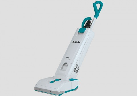 MAKITA DVC560 UPRIGHT VACUUM CLEANER - Two Batteries