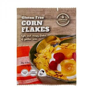 SERIOUS CEREAL GLUTEN FREE CORNFLAKES 25gm X 48
