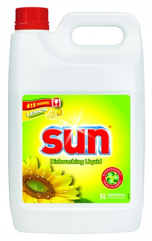 SUN LIQUID LEMON DISHWASH 5L