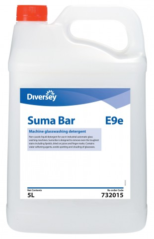 SUMA BAR E9e GLASSWASH 5L