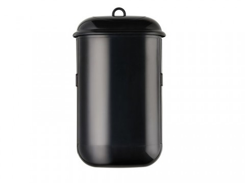 POD PETITE MANUAL SANITARY BIN BLACK