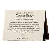 THERAPY RANGE TENT CARDS X 50