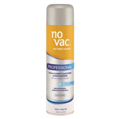 NO VAC FOAM CARPET - Vanilla 500ml
