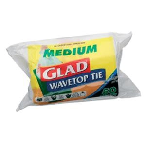 GLAD WAVE TOP KTL - MEDIUM 50PKT (27lt)