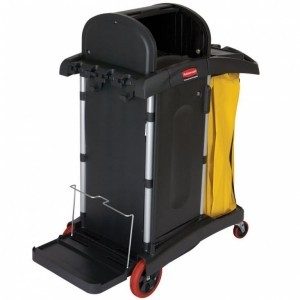 RUBBERMAID CLEANING CART - HIGH SECURITY