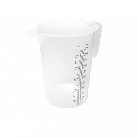 MEASURING JUG 5L-SQUARE SPOUT